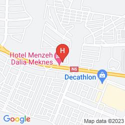 Map MENZEH DALIA