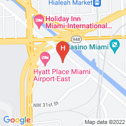 Map EMBASSY SUITES BY HILTON MIAMI INTERNATIONAL AIRPORT