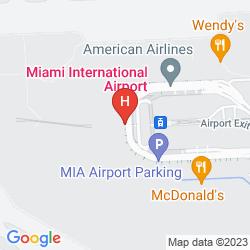 Map MIAMI INTERNATIONAL AIRPORT HOTEL