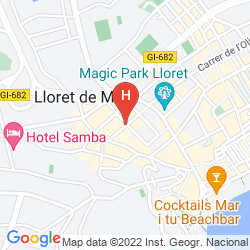 Map VILLA GARBI