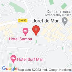 Map GUITART CENTRAL PARK AQUA RESORT