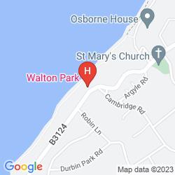 Map BEST WESTERN WALTON PARK HOTEL