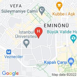 Map MEDDUSA HOTEL ISTANBUL