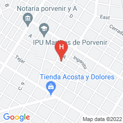 Map VILLA LOS PINOS