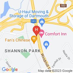Map COMFORT INN DARTMOUTH