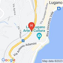 Map BEST WESTERN ALBATRO