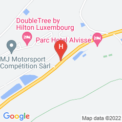 Map DOUBLETREE BY HILTON LUXEMBOURG