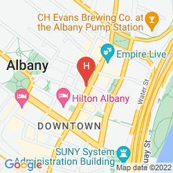 Map CROWNE PLAZA HOTEL ALBANY-CITY CENTER (.)