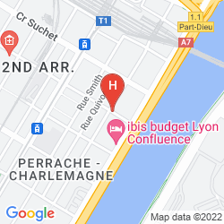 Map AXOTEL PERRACHE