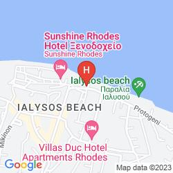 Map SUN BEACH RESORT COMPLEX