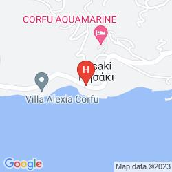 Map CORFU RESIDENCE