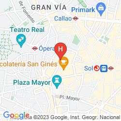 Map FRANCISCO I