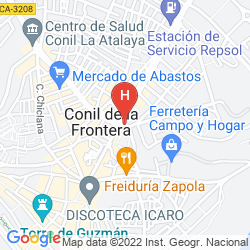 Map PRADILLO CONIL
