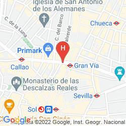 Map MADRID GRAN VIA 25 MANAGED BY MELIA