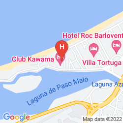 Map CLUB KAWAMA RESORT