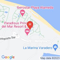 Map PARADISUS PRINCESA DEL MAR RESORT & SPA - ONLY ADULTS