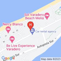 Map SOL SIRENAS - CORAL RESORT