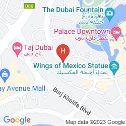 Map VIDA DOWNTOWN DUBAI