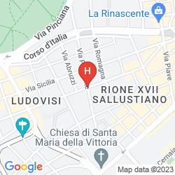 Map ROMANICO PALACE