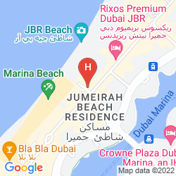 Map HILTON DUBAI JUMEIRAH