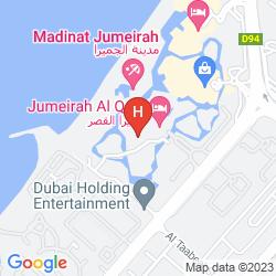 Map JUMEIRAH AL QASR - MADINAT JUMEIRAH