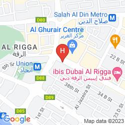 Map DEEBAJ AL KHABISI PLAZA APARTMENTS