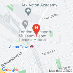 Map ACTON TOWN HOTEL & APARTMENTS