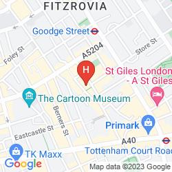 Map CHARLOTTE STREET