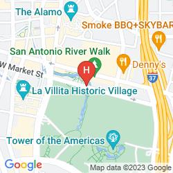 Map GRAND HYATT SAN ANTONIO