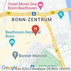 Map STERNHOTEL BONN