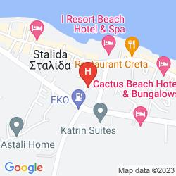 Map ANTHOUSSA RESORT & SPA