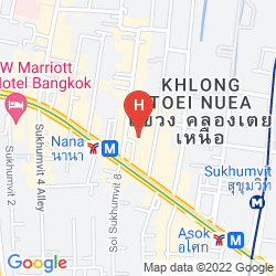 Map GRAND SWISS SUKHUMVIT 11 BY COMPASS HOSPITALITY