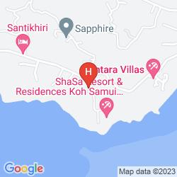 Map CENTARA VILLAS