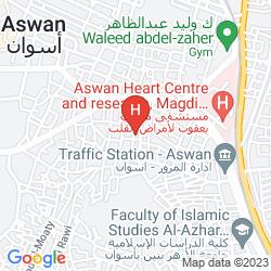 Map SOFITEL LEGEND OLD CATARACT ASWAN