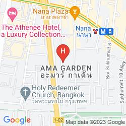 Map ASPEN SUITES SUKHUMVIT BANGKOK HOTEL BY COMPASS HOSPITALITY