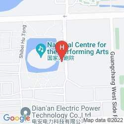 Map CHINA CENTRAL PALACE SERVICE APARTMENT