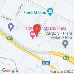 Map NH MILANO FIERA