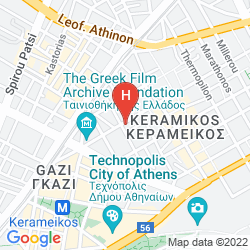 Map DORIAN INN