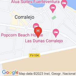 Map VILLAS CHEMAS (LAS PERGOLAS III)