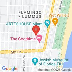 Map THE ANGLER'S MIAMI SOUTH BEACH, A KIMPTON HOTEL