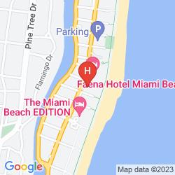Map RIU PLAZA MIAMI BEACH