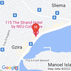 Map 115 THE STRAND HOTEL & SUITES