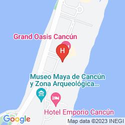 Map SEADUST CANCUN FAMILY RESORT