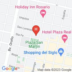 Map MAJESTIC HOTEL ROSARIO