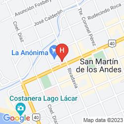 Map LOI SUITES CHAPELCO