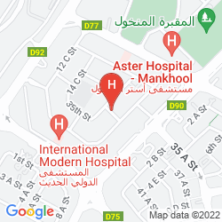Map ABC ARABIAN SUITES