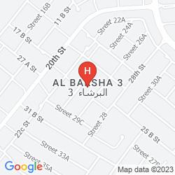 Map STAR METRO AL BARSHA HOTEL APARTMENTS