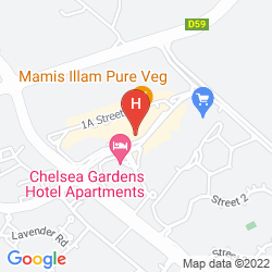 Map PARKSIDE SUITES - DISCOVERY GARDENS
