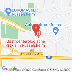 Map MICHEL HOTEL FRANKFURT AIRPORT