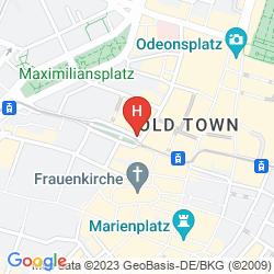 Map BAYERISCHER HOF